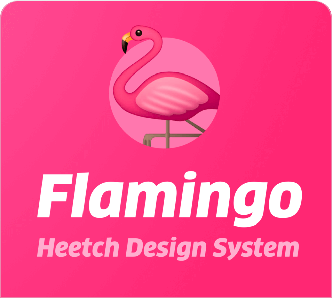 Build out beautiful application focused websites with the Flamingo Design System.