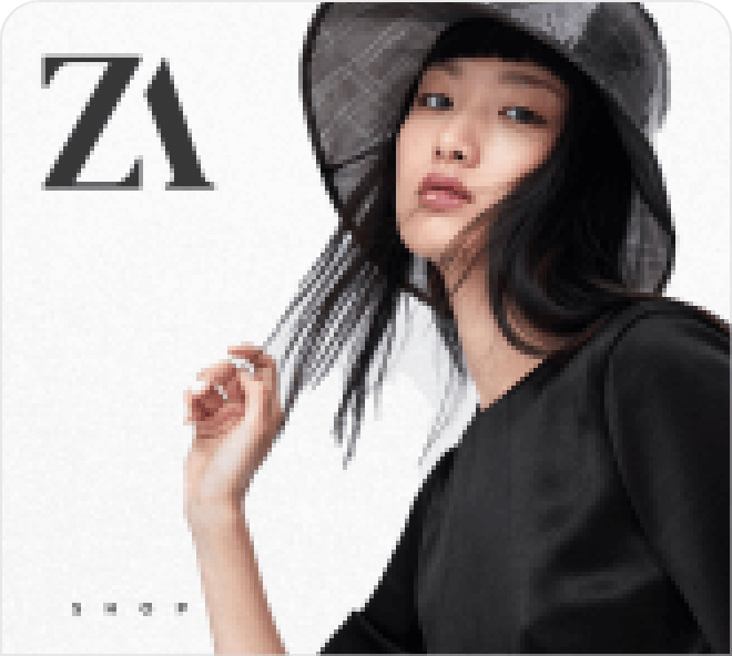 Enjoy this ultra-slick and professional looking Zara redesign UI kit. Use in your online shop designs.