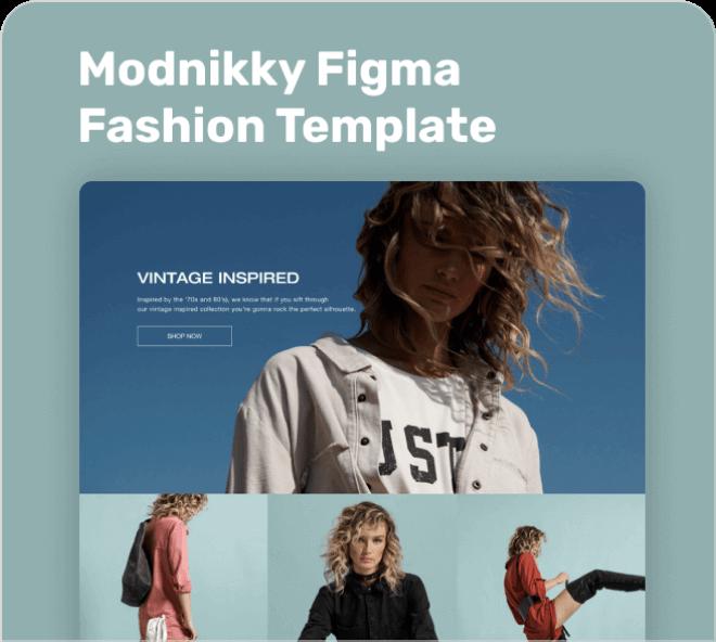 Modnikky Fashion & Shopping Template