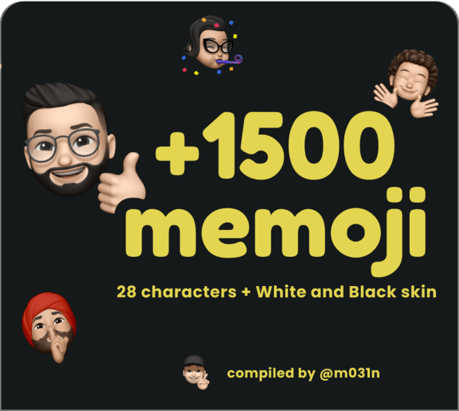 Build out your own Memoji instantly with this Memoji Maker.