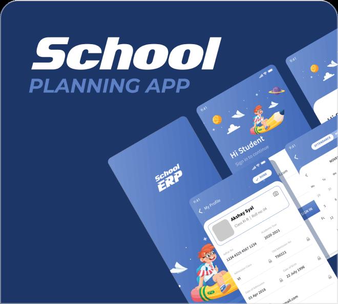 School Planning App