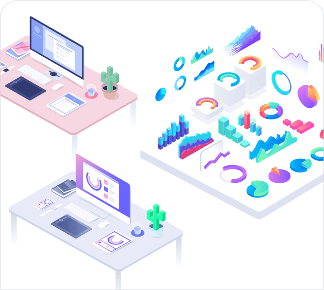 Decorate your website with these truly beautiful isometric apple devices illustrations.
