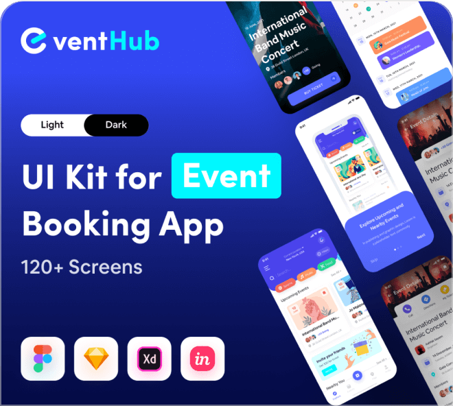 Wow! Check out this premium level event booking app. It's truly amazing quality.