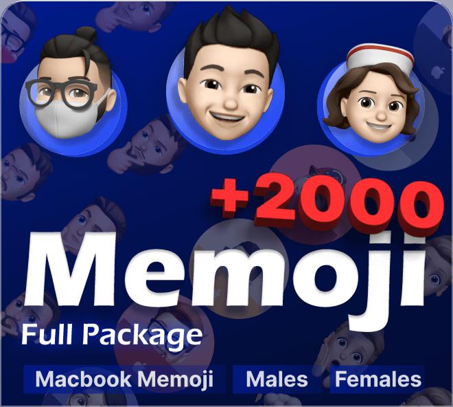 Choose your perfect Memoji with this selection of 2000 Memojis. The ultimate Memoji creator.