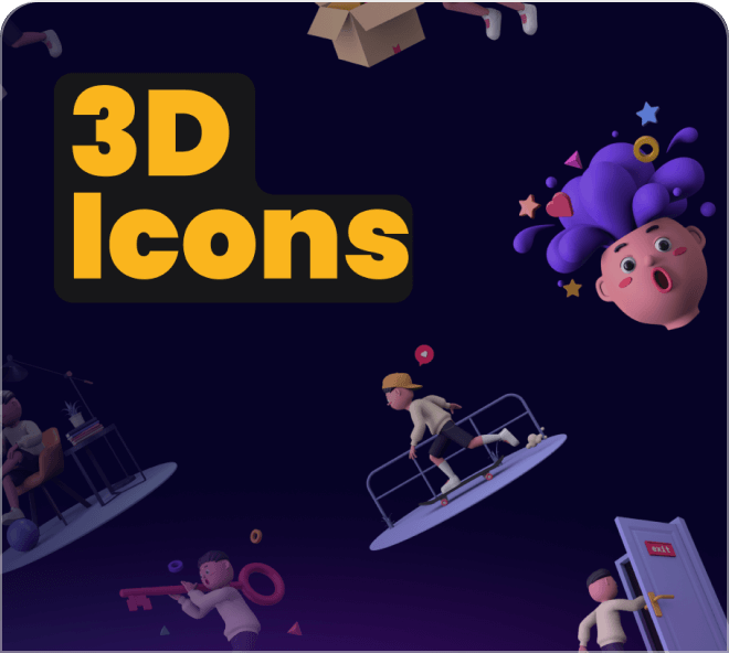 Sample coolicons icons.