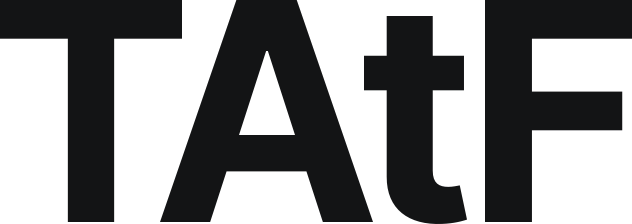 Our abbreviated logo in black.
