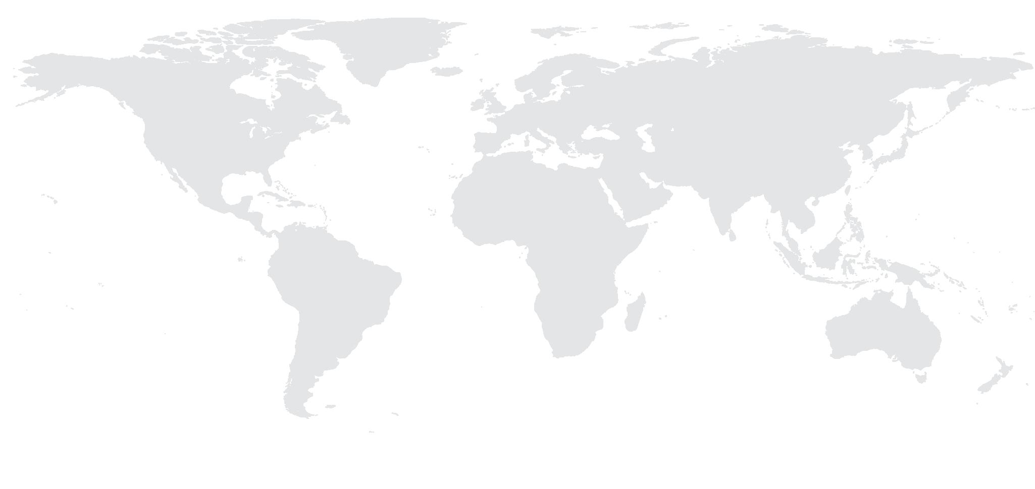 World map white icon