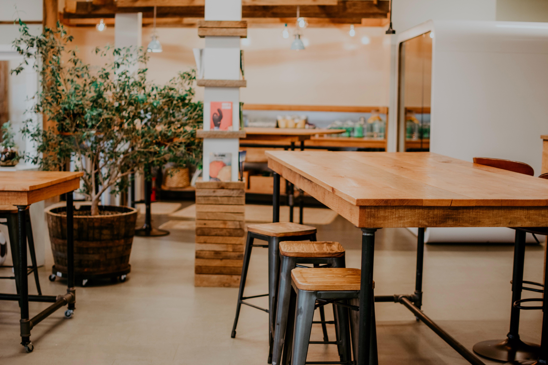 Basic wooden interior