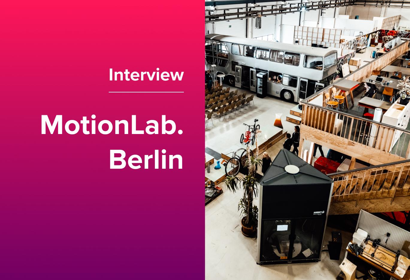 deskbird Coworking Spaces: Nice to Meet You, MotionLab.Berlin!