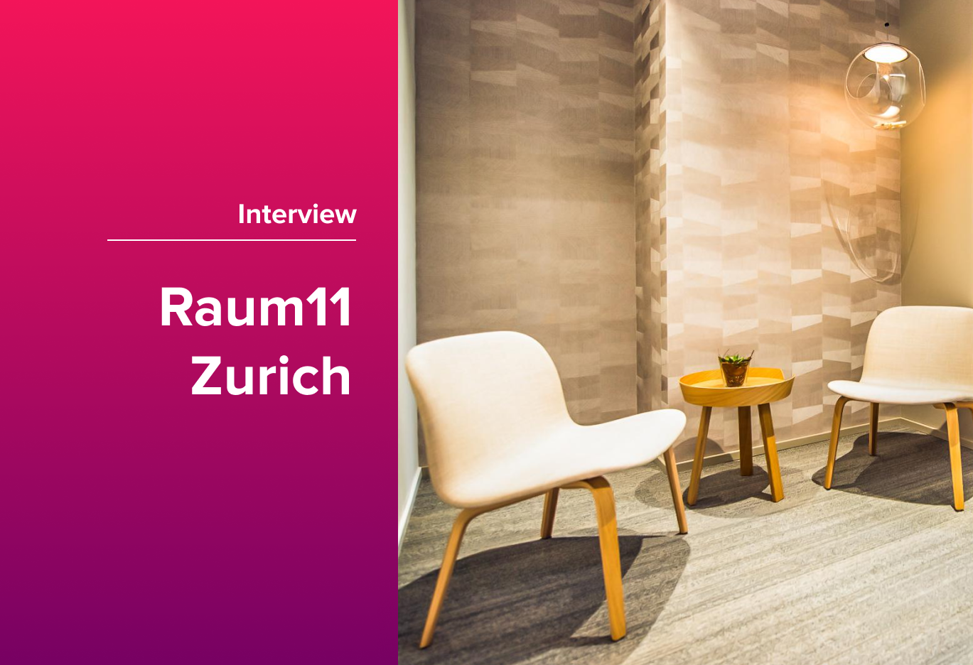 deskbird Coworking Spaces: Welcome to Raum11