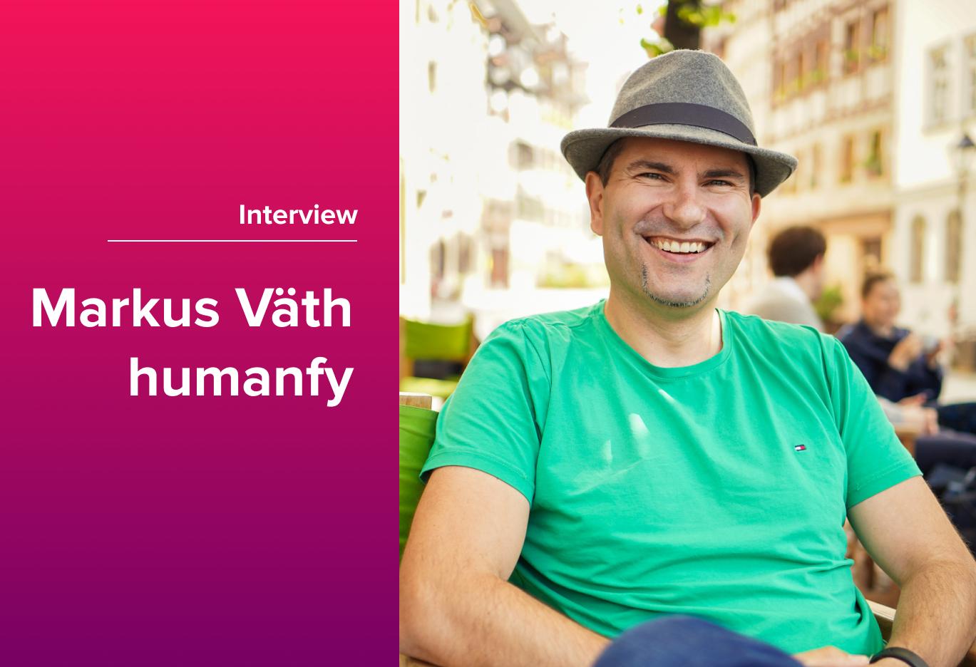 New Work in Our World - Interview with Markus Väth