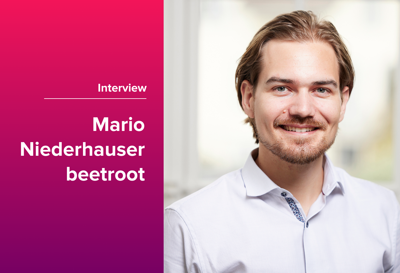 People First: Hybrid Work Culture with Mario Niederhauser from Beetroot