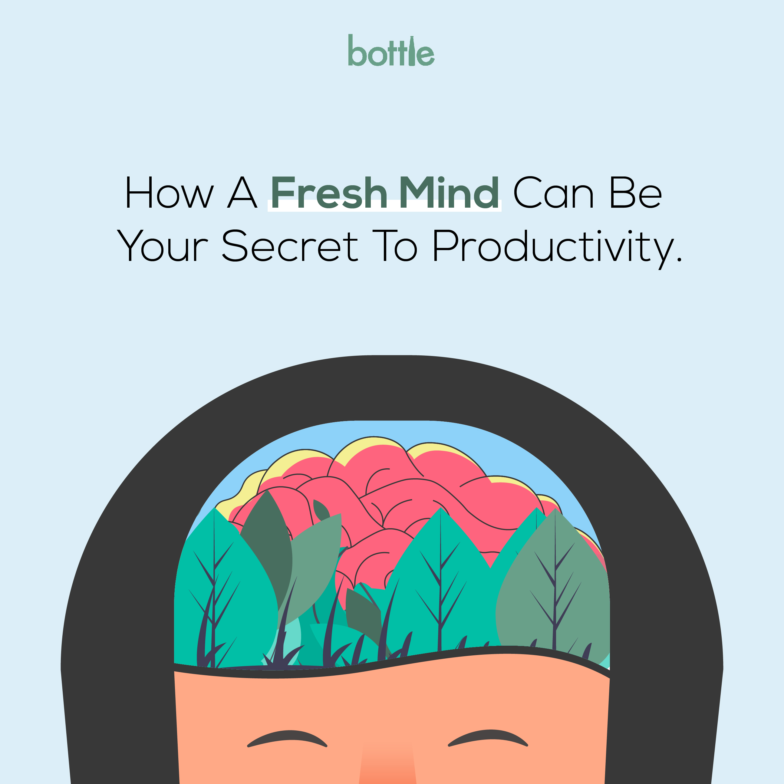 How A Fresh Mind Can Be Your Secret To Productivity
