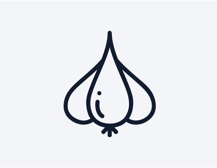 garlic clove icon