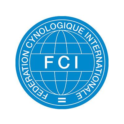 Logo der Federation Cynologique Internationale (FCI)