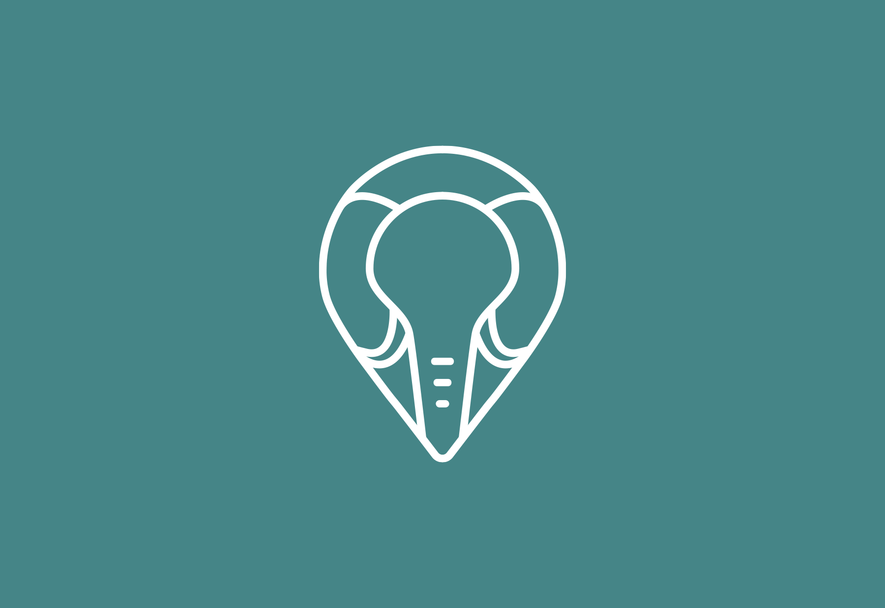 Logo icon for travel company, Dream to Africa