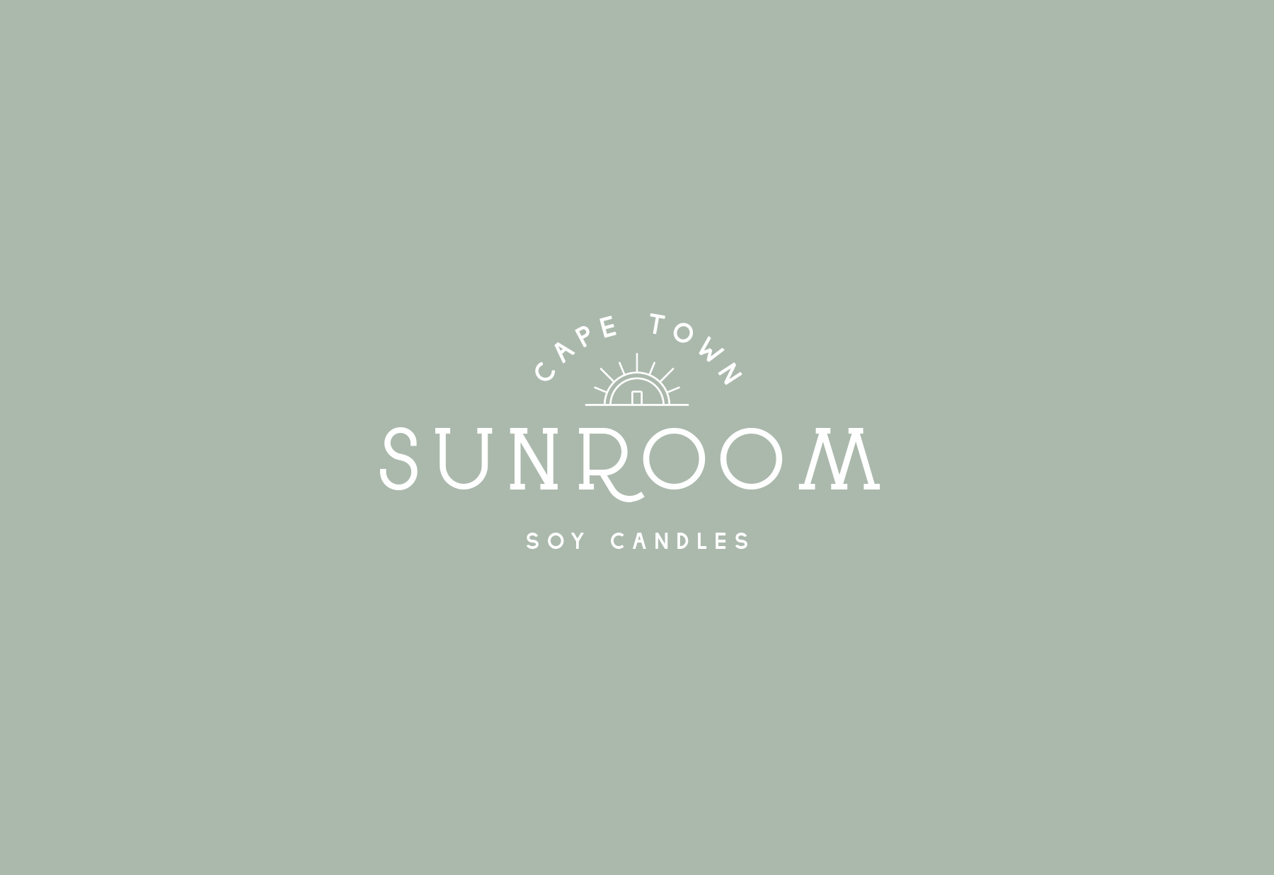 Pretty logo design for a Cape Town based soy candle company, Sunroom