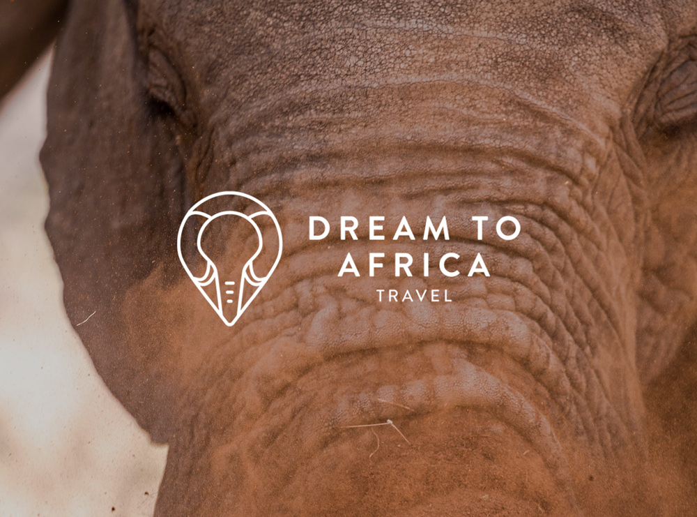 Cute logo design for African travel company, Dream to Africa Travel