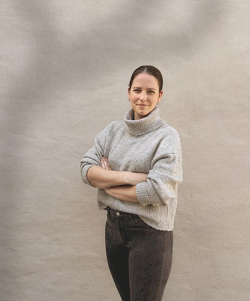 Jenna Manthe, founder of Holy Moly Creative Studio