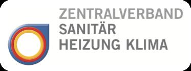 Logo - Zentralverband Sanitär Heizung Klima