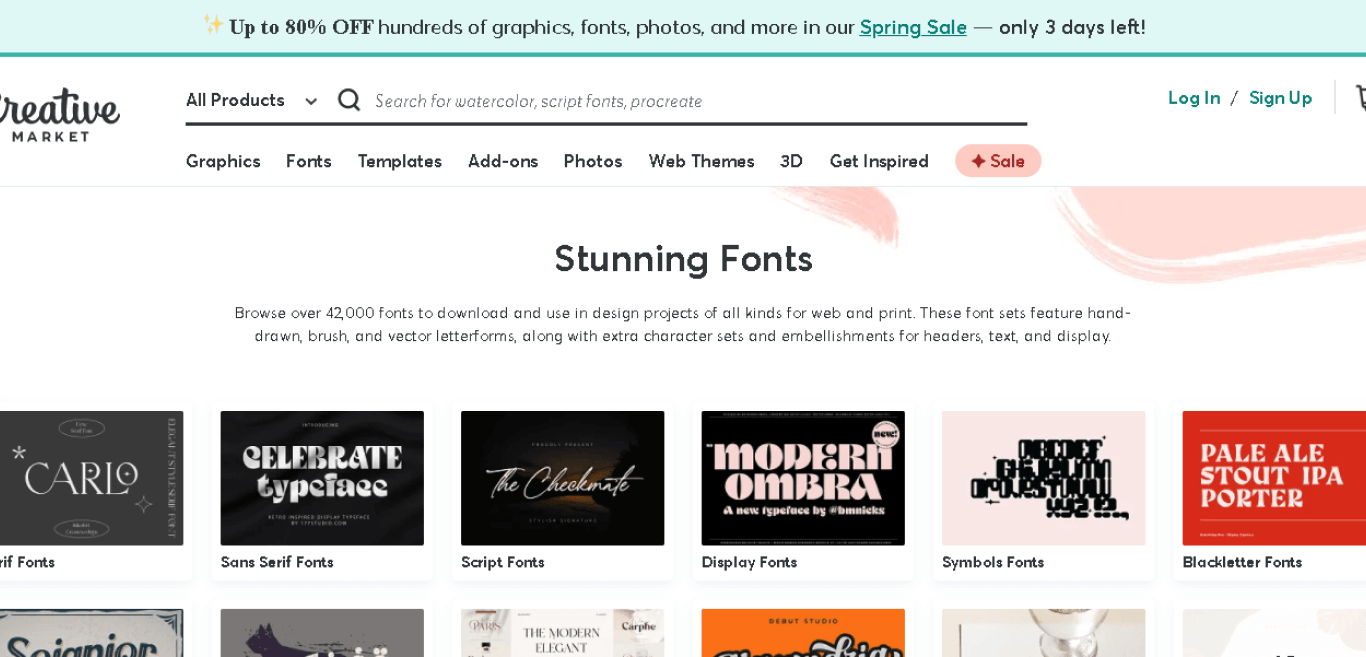 Creative Market Font