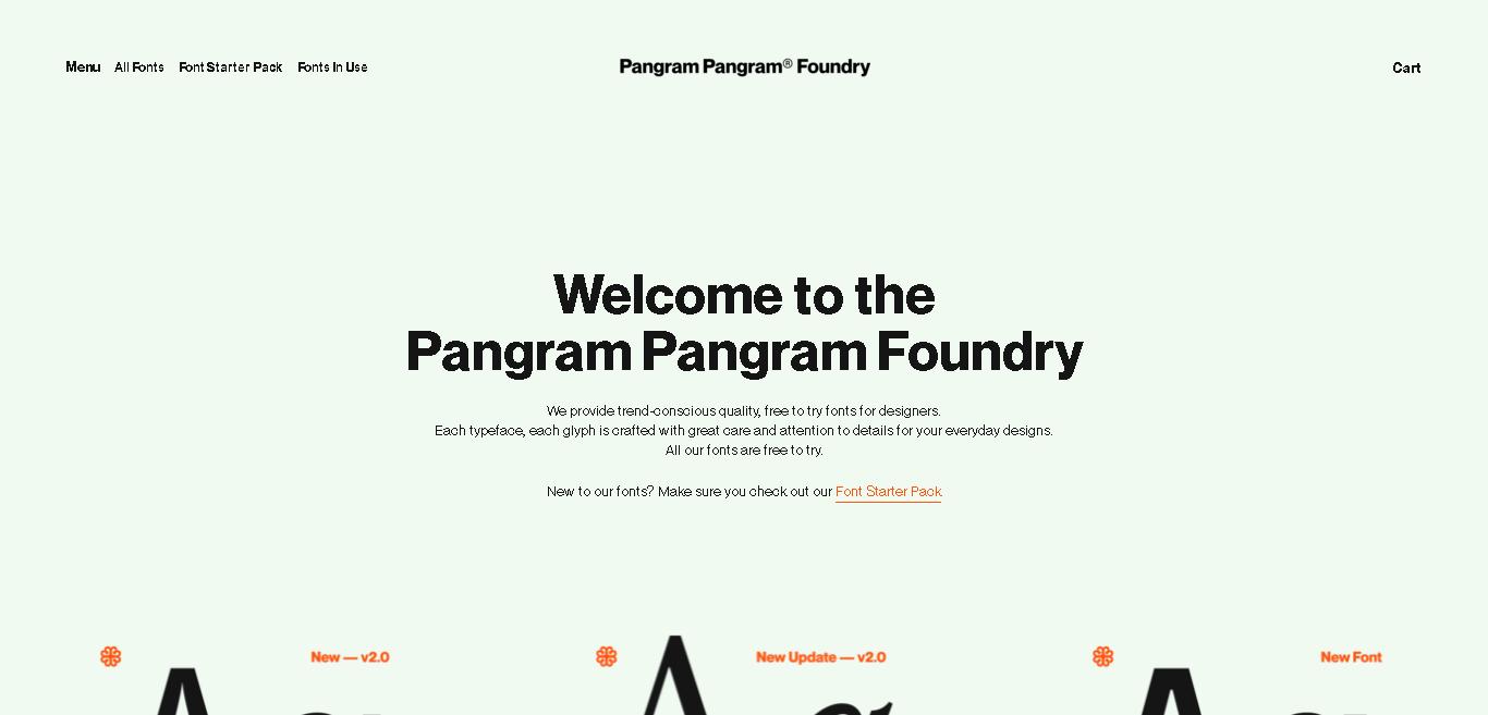 Pangram Pangram Foundry