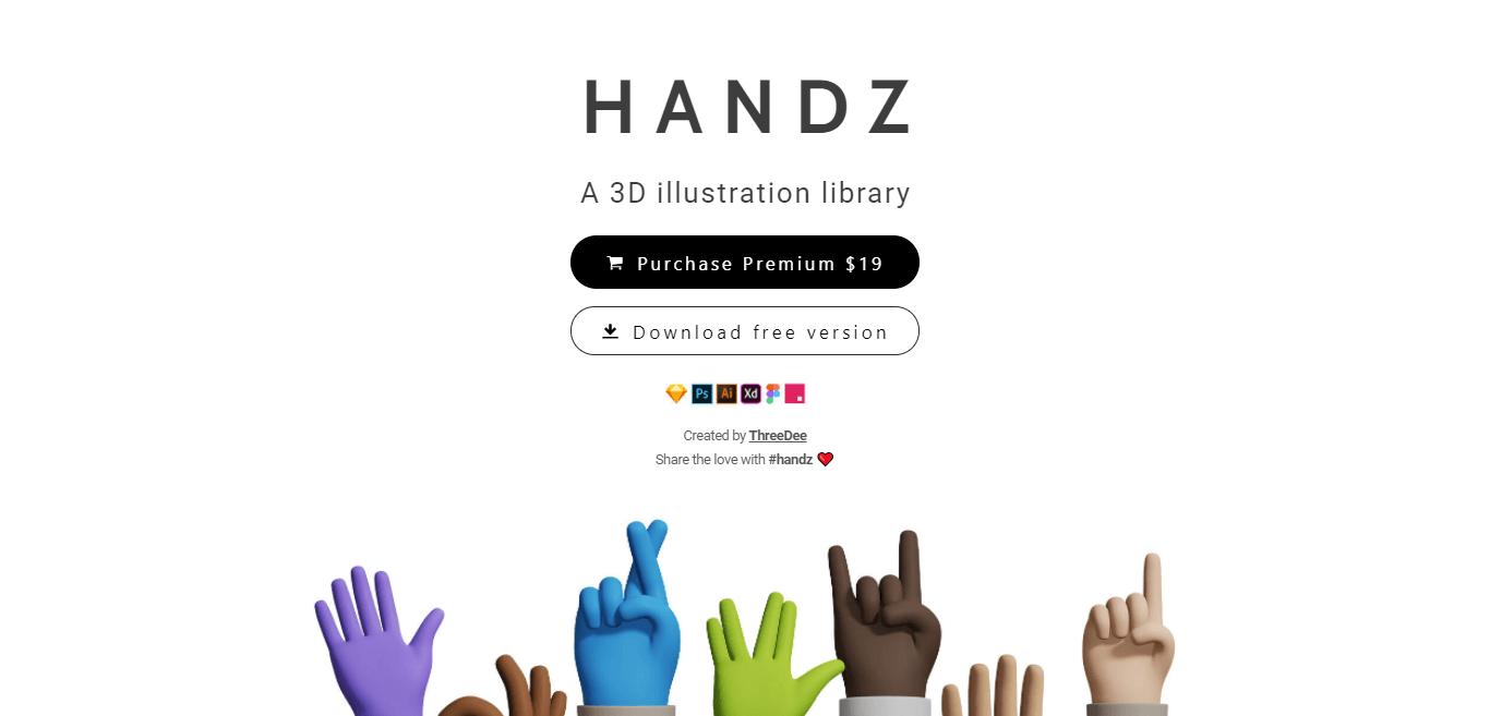 3D Hands Gesture