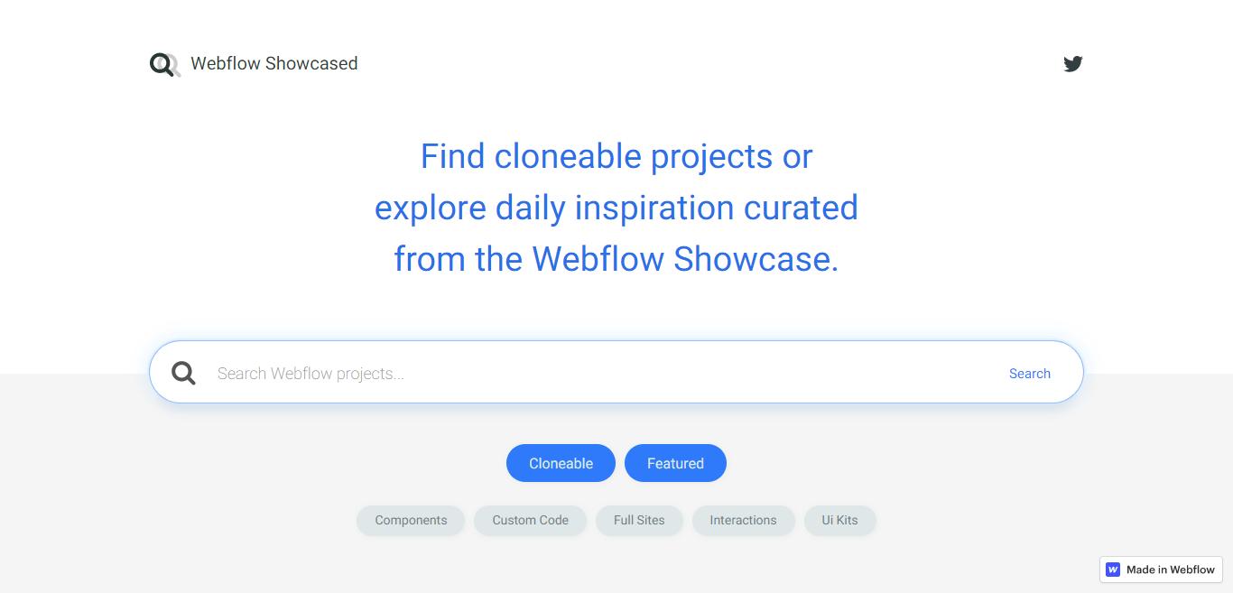 Webflow Showcased
