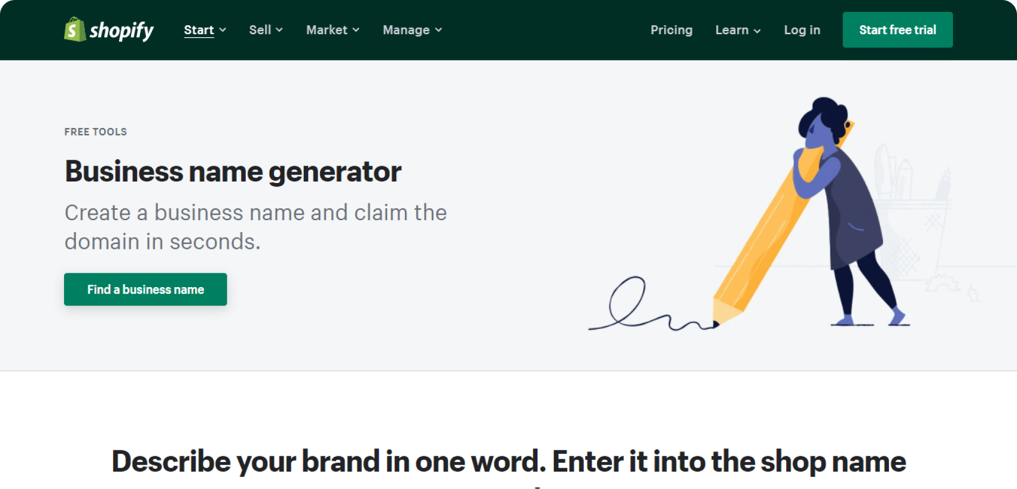 Shopify-Domain-generator-provide-great-name-for-small-business