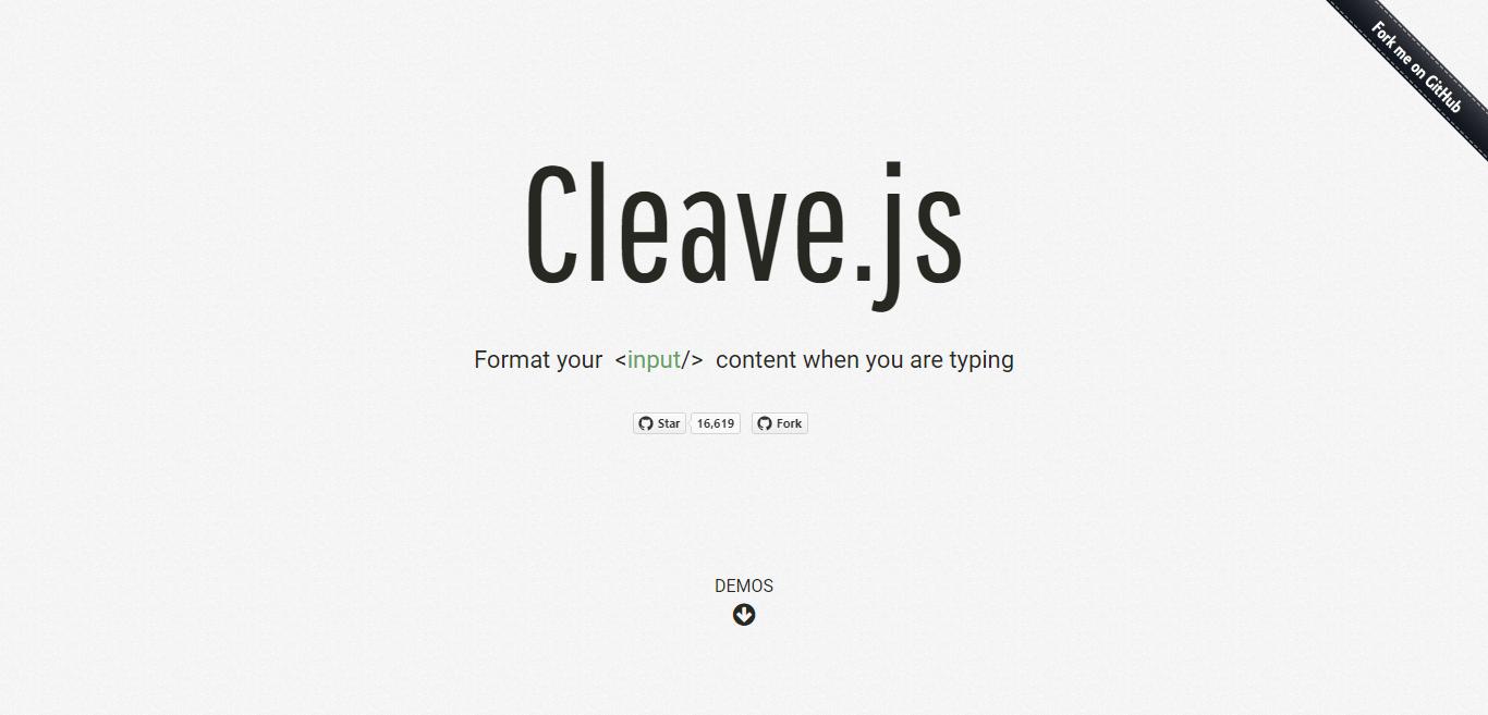 Cleave JS