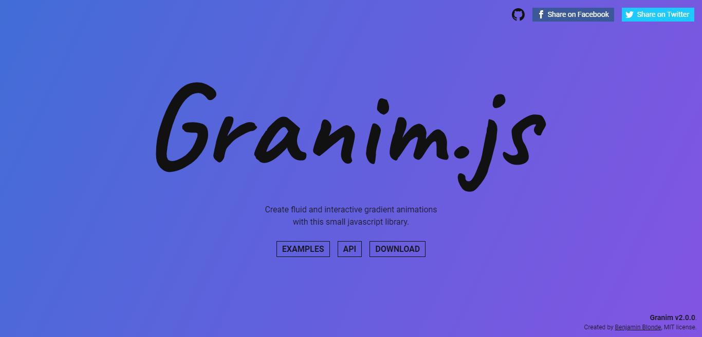 Granim JS
