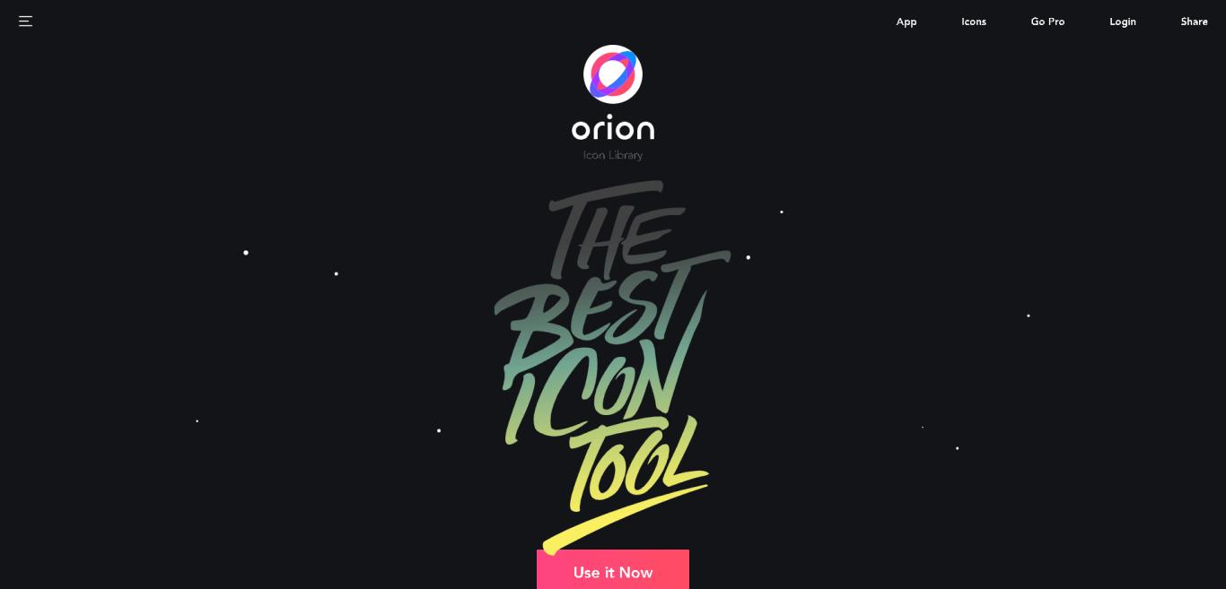 Orion Icon Libary