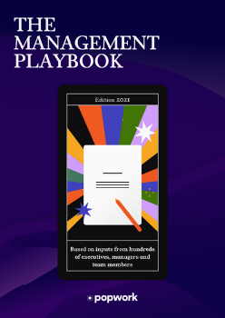Popwork management playbook cover