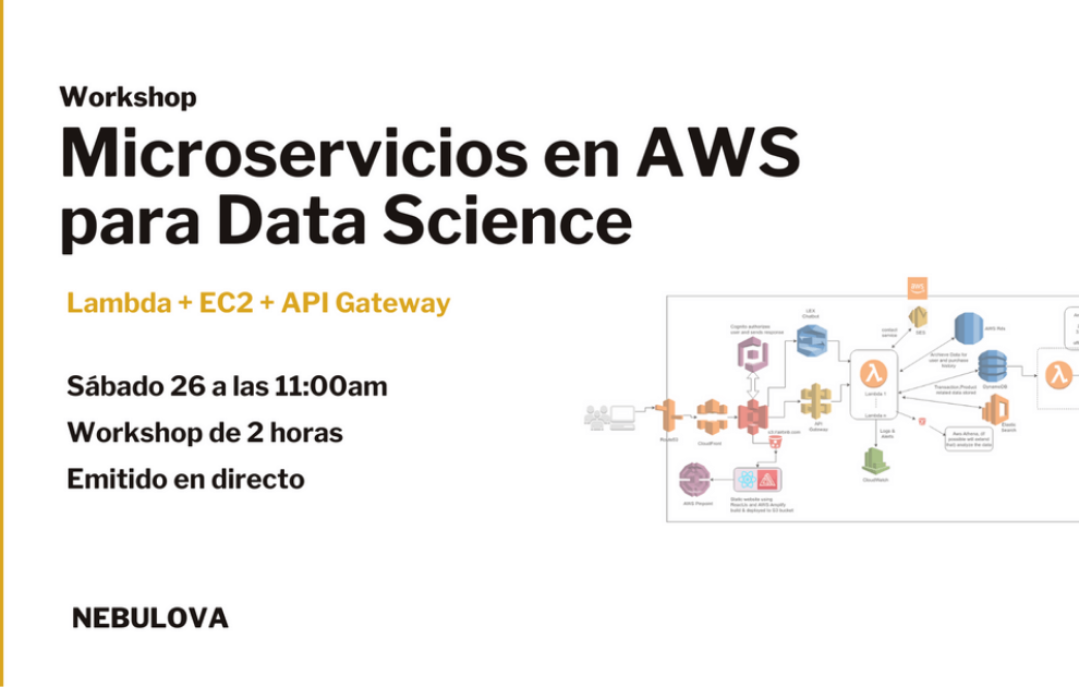 Microservicios en AWS para Data Science [Workshop]