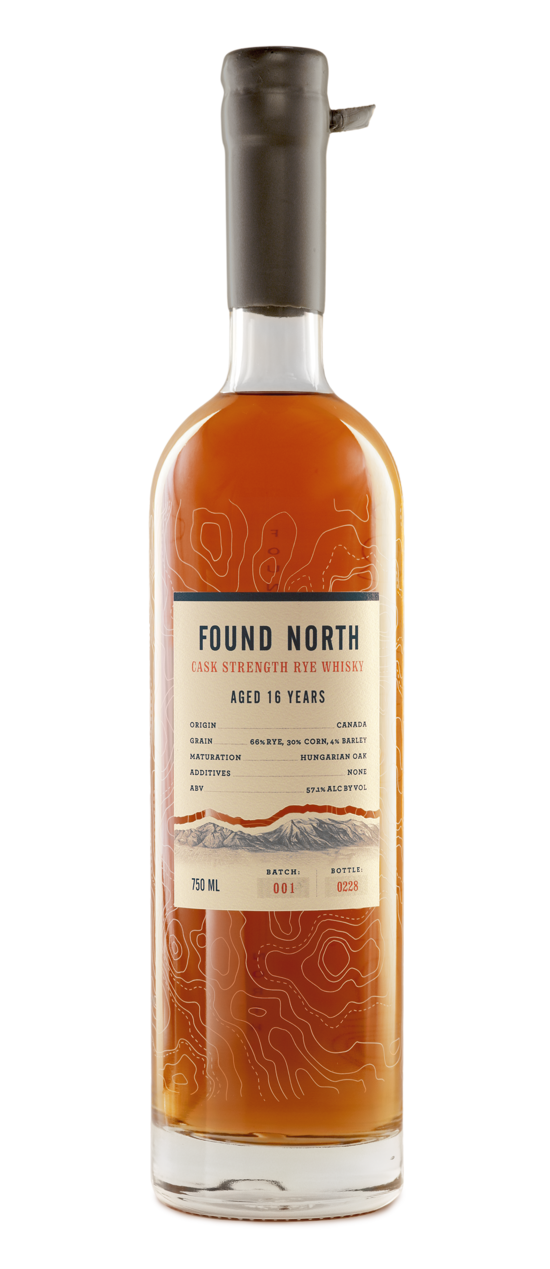Image of Batch 001 Bottle of Found North