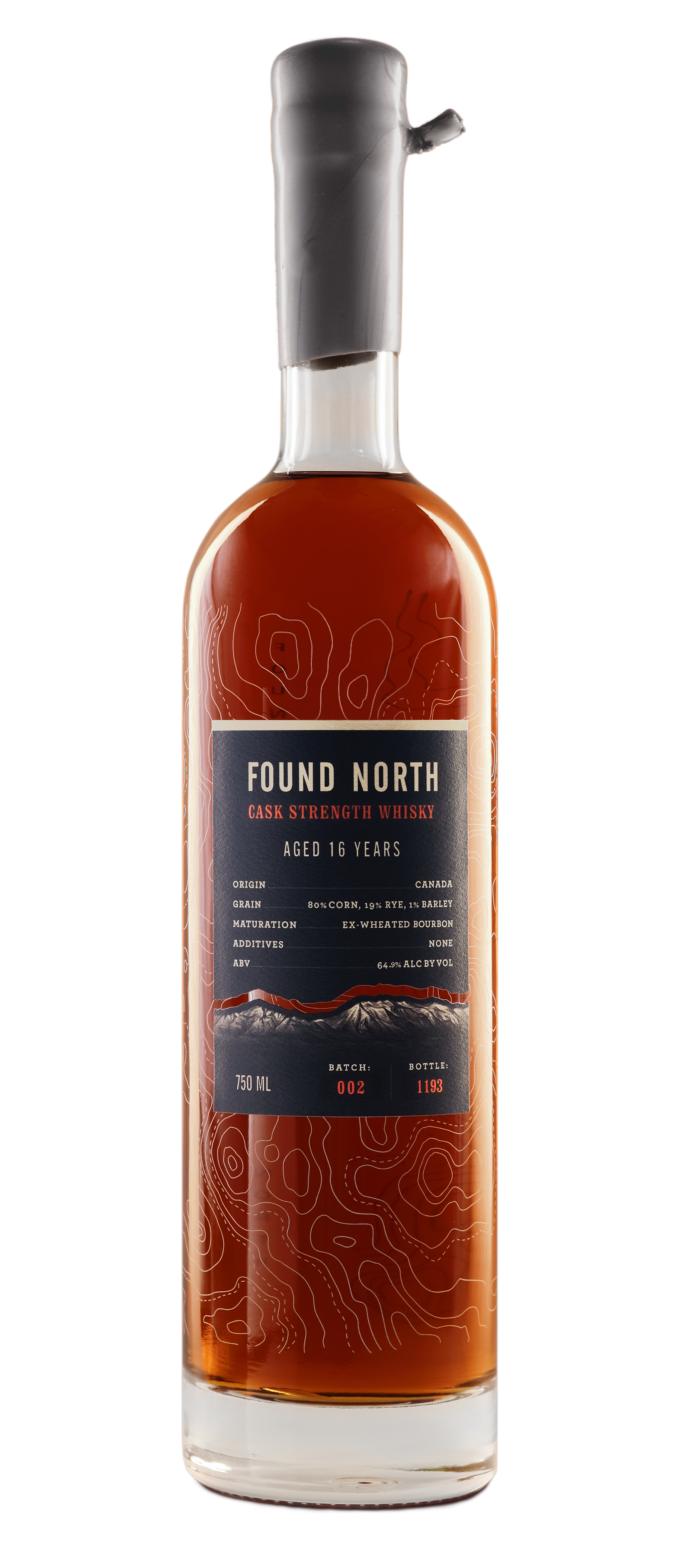 Image of Batch 002 Bottle of Found North