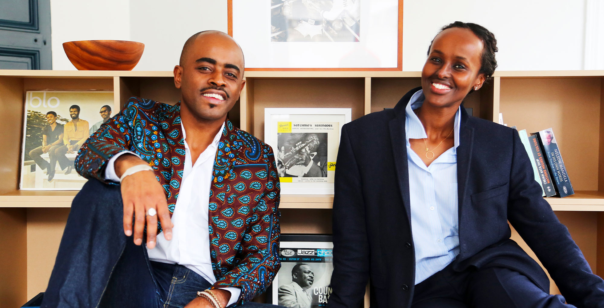 Afrobytes Founders Ammin Youssouf and Haweya Mohamed