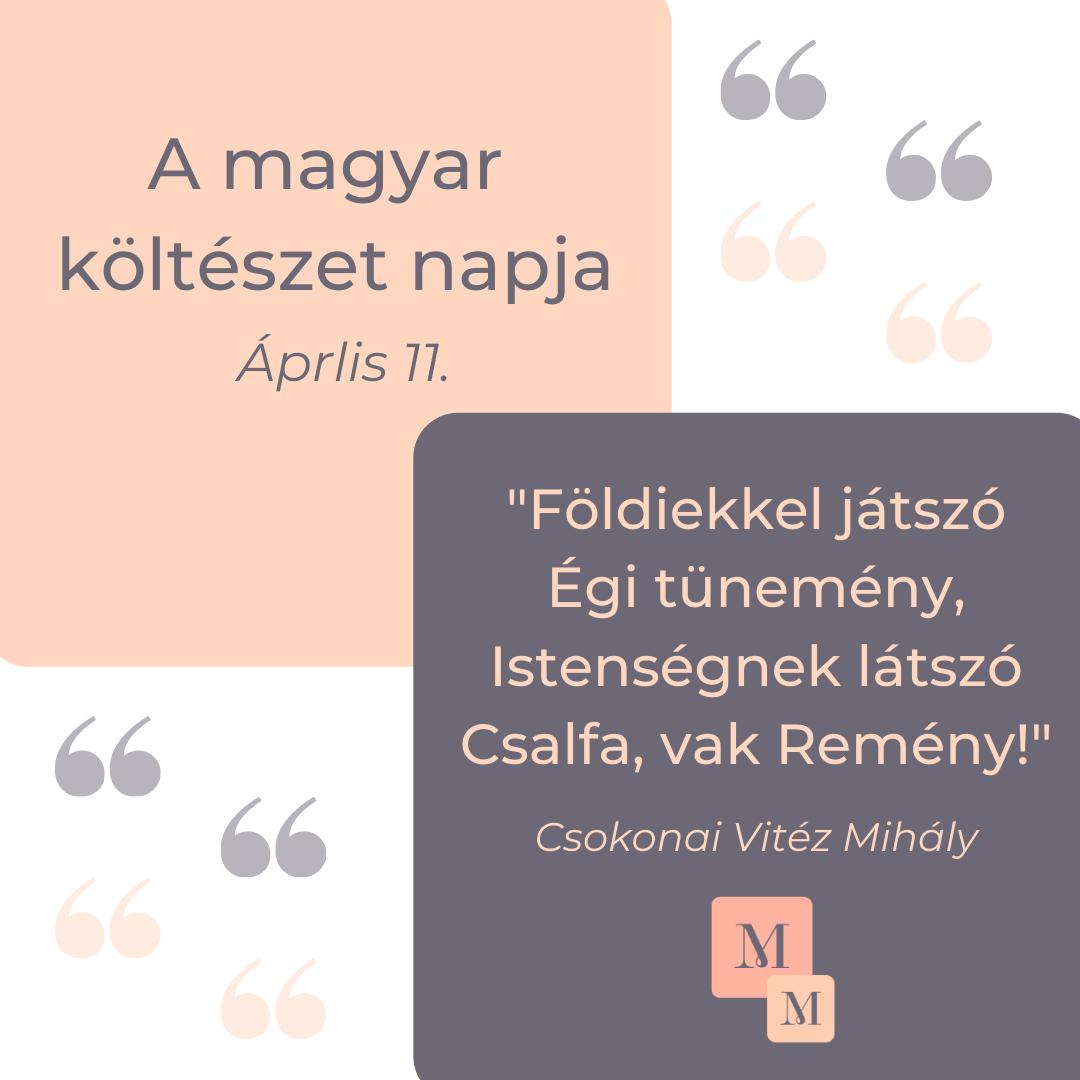 A magyar költészet napja 2021