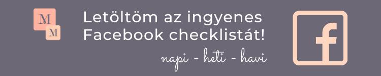 Faceook checklista