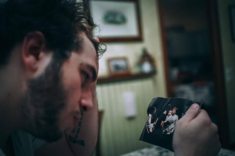 Alberto Quistini, Fotografia, The dark side of an actor