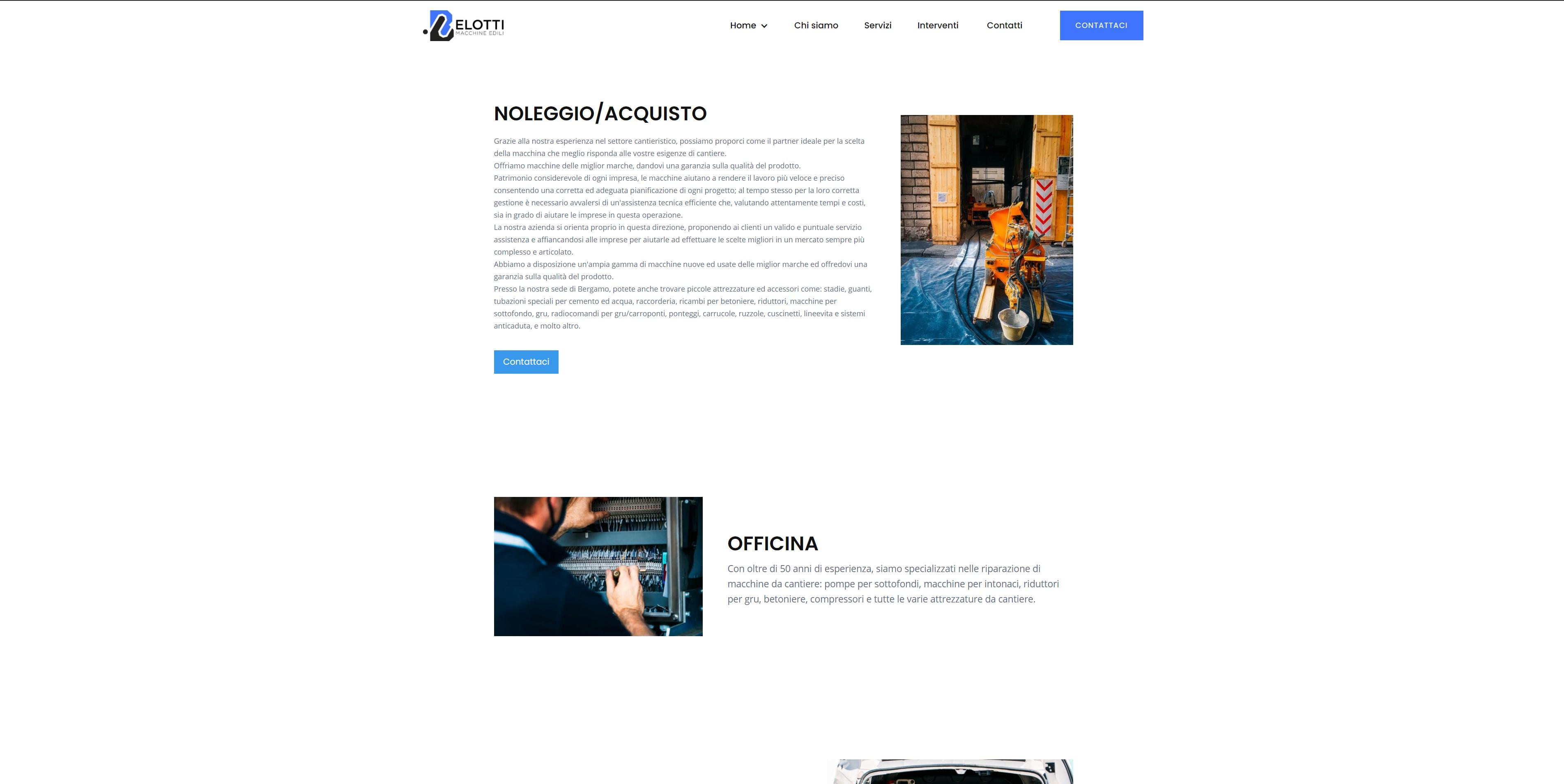Alberto Quistini, Brand design, web Design