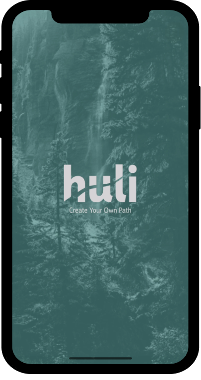 Huli app iphone mockup