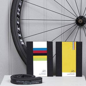 personalised bike notebook