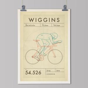 Hour-Record-Cycling Print-Bradley-Wiggins