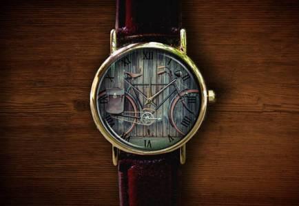 cycling design watch gift