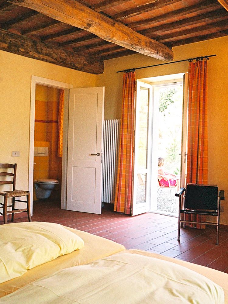 Hübsches Hotelzimmer auf Podere Riparbella