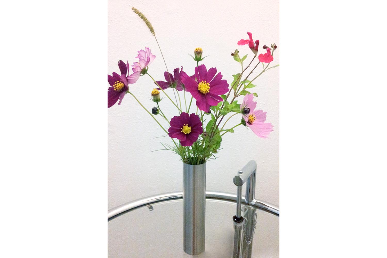 Blumen auf dem Zimmer auf Podere Riparbella