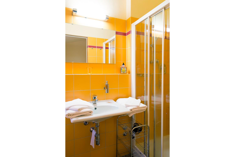 Wunderschönes Badezimmer auf Podere Riparbella