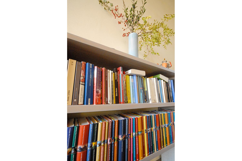 Kleine Bibliothek auf Podere Riparbella