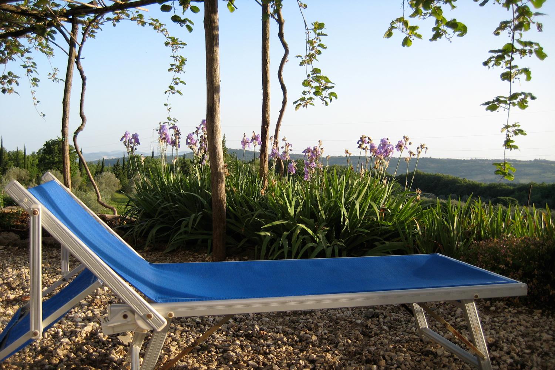 Entspannen während dem Urlaub auf Podere Riparbella